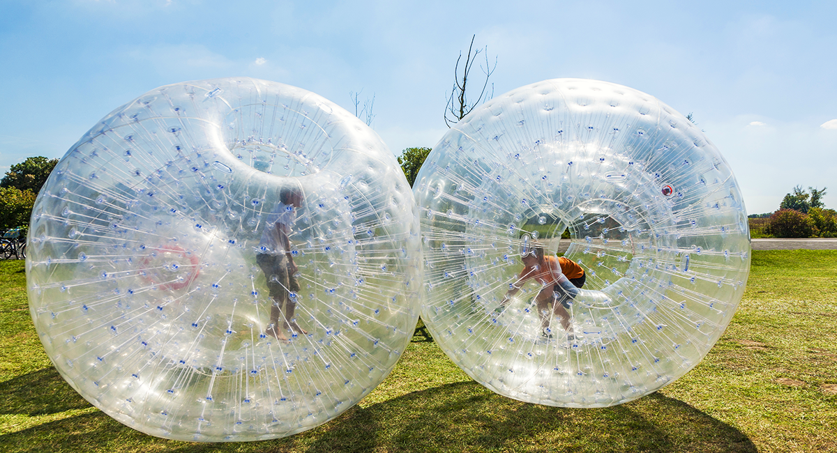 An introduction to Zorbing | OS GetOutside