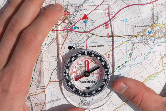 A beginners guide to the compass | OS GetOutside