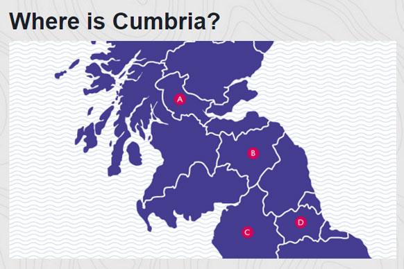 Take the map reading quiz gumiabroncs Choice Image