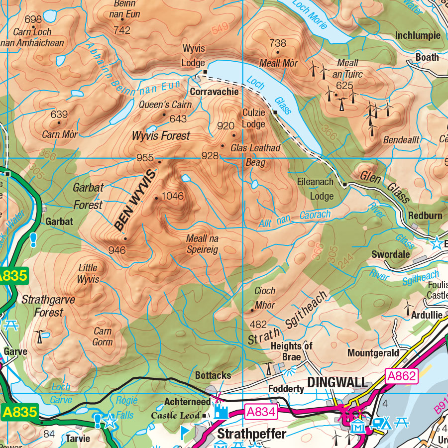 How To Calculate Relief On A Topographic Map.Advanced Guide To Reading Contours And Relief Os Getoutside