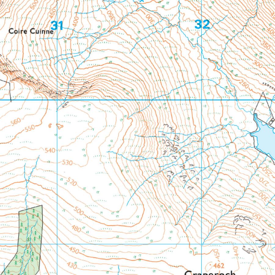 Advanced Guide To Reading Contours And Relief OS GetOutside - Contour maps online uk