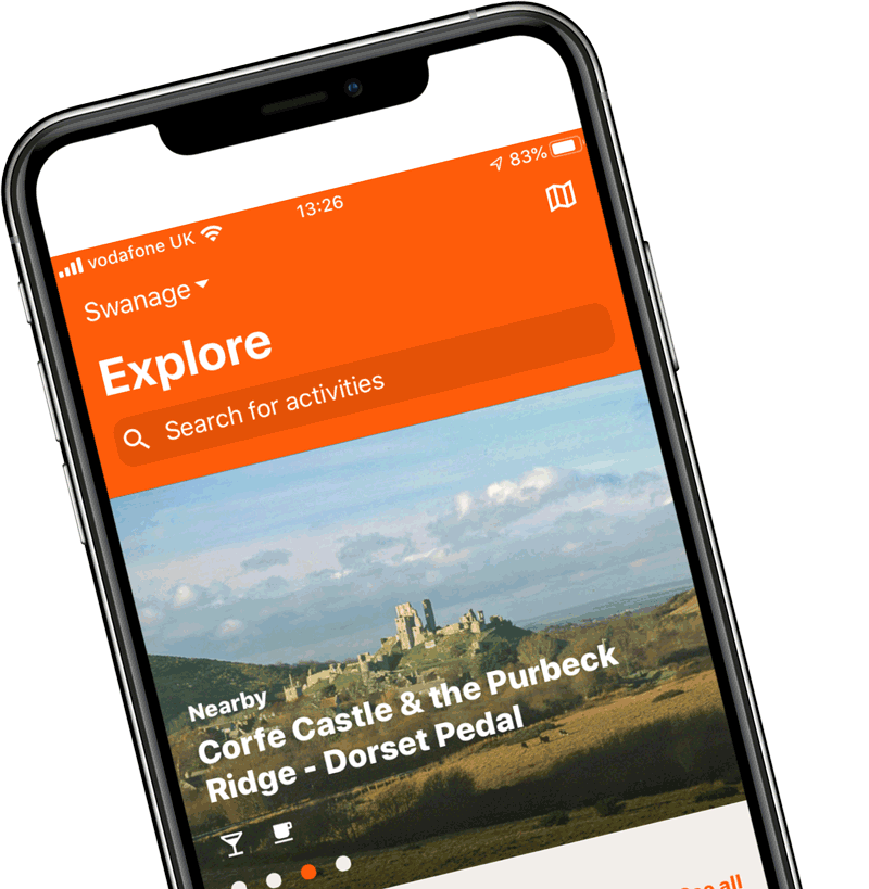 GetOutside app on phone