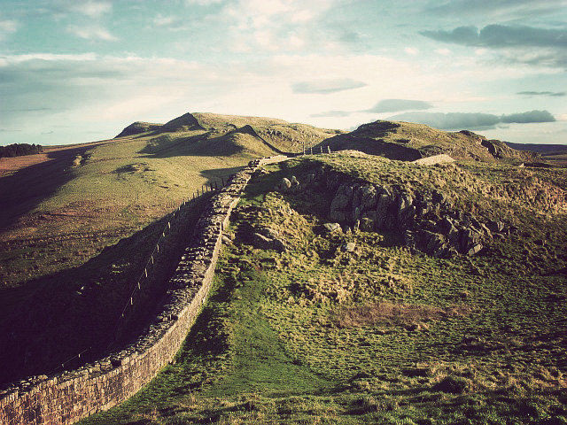 Hadrians Wall by Andrew-Smith (Create Commons from Geograph)