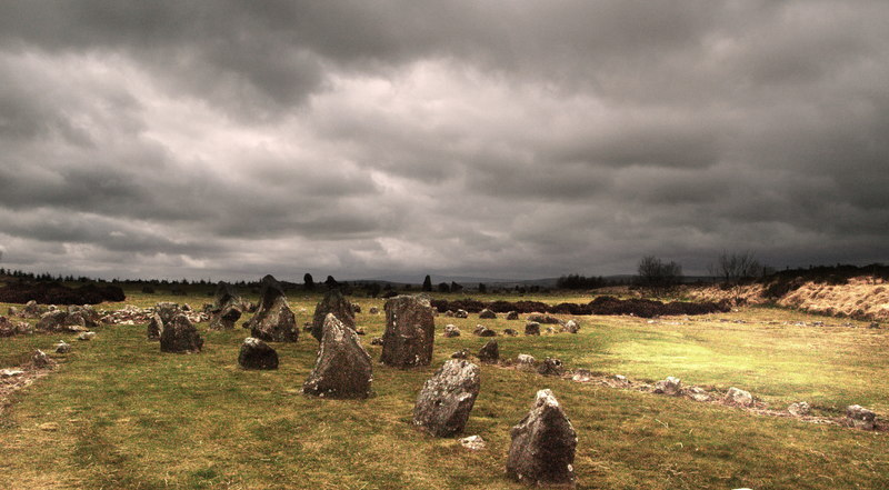 Beaghmore stone circles  - © Robert Ashby via Geograph (Creative Commons)