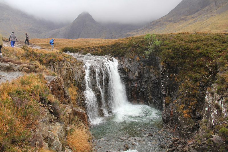 The Fairy Pools - © Richard Croft via Geograph (Creative Commons)