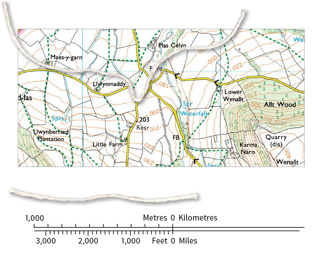 A beginners guide to measuring distance on a map | OS GetOutside on