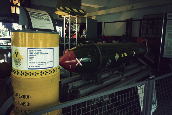 Decommissioned missile