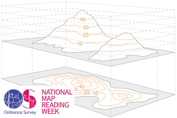 A beginners guide to understanding map contour lines | OS GetOutside