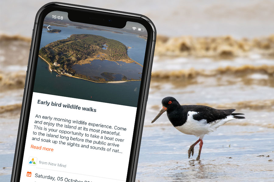 Find new places to go with the GetOutside App