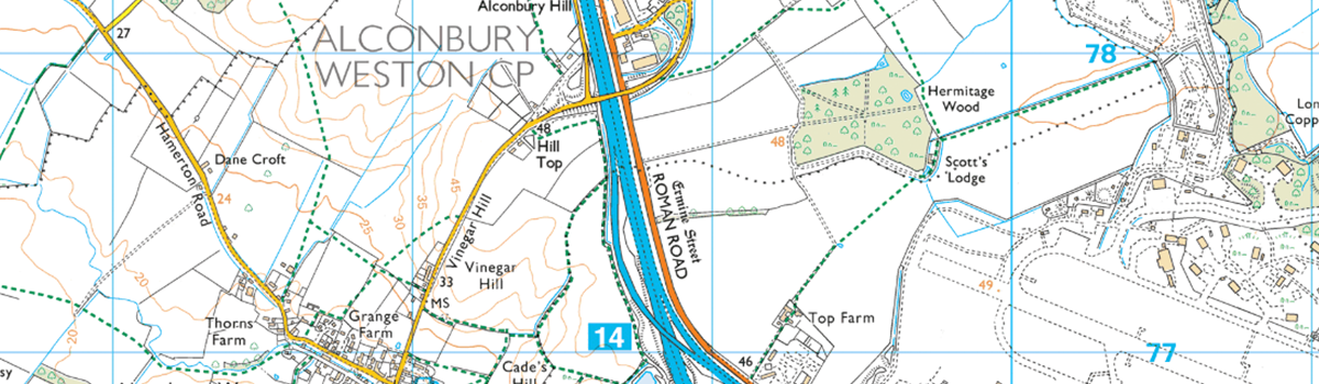 How To Spot History In Your Os Map Os Getoutside